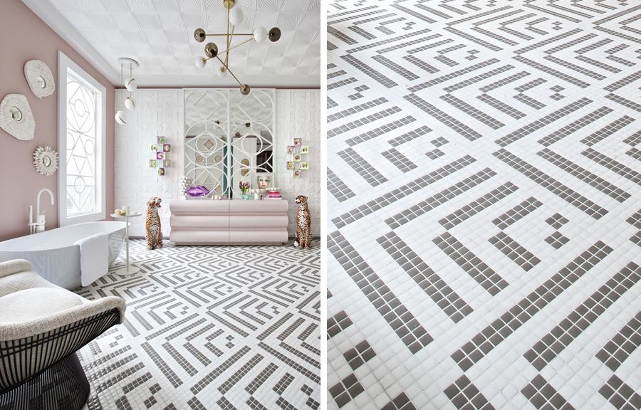 Los Suelos Y Paredes De Mosaico Marcan Tendencia En Casa Decor - 1960s floor tiles