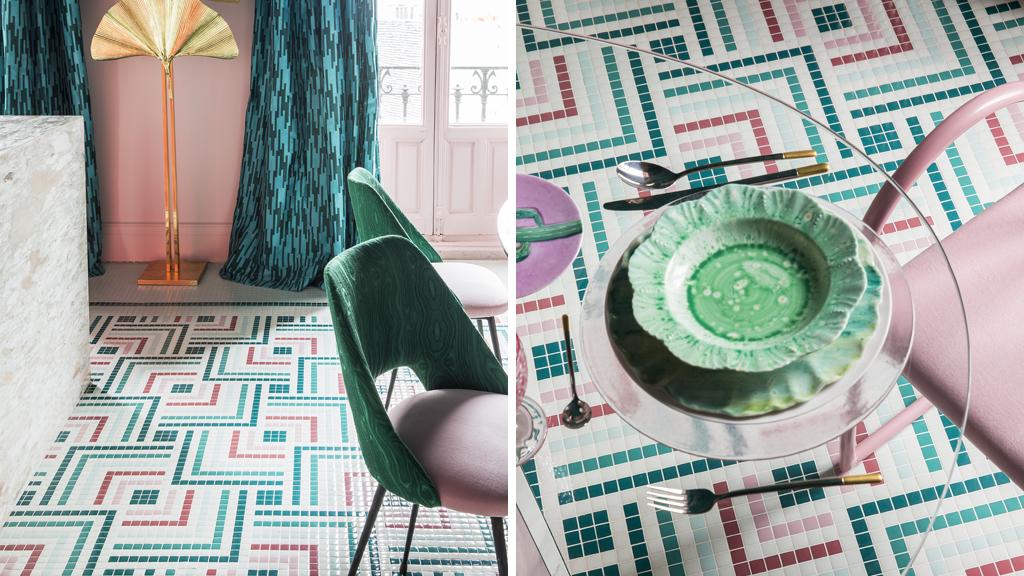 """Osadía Rebel Kitchen de Patricia Bustos, con suelo Hisbalit, """"Mejor Proyecto Casa Decor 2018"""""""
