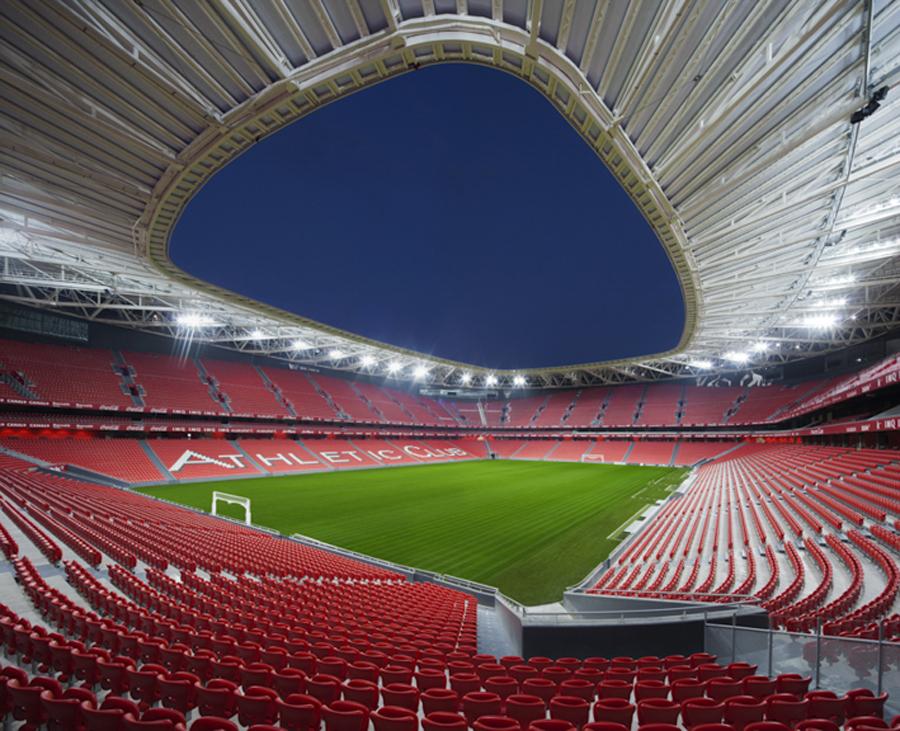 Diseño estadio San Mamés