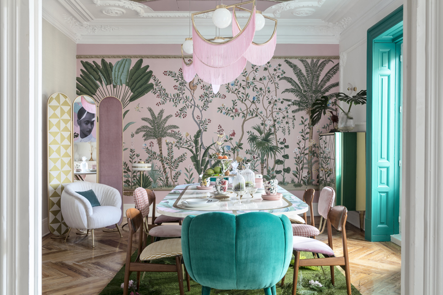 Tropical Lunch Casa Decor 2018