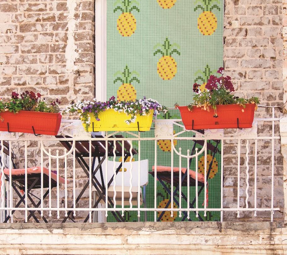 Terraza decoración |Hisbalit