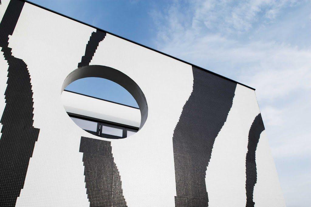 Animal print facades