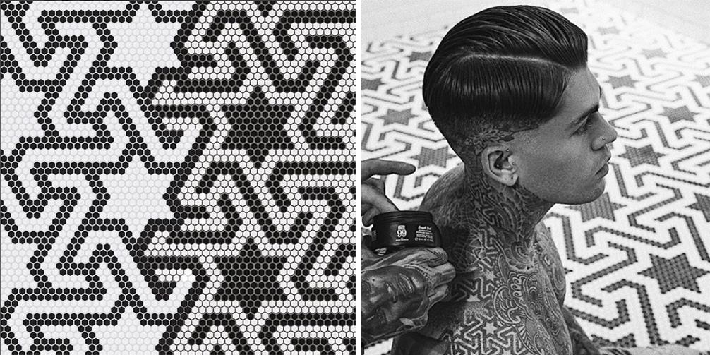 Tatoo barbershop's Stephen James Barcelona