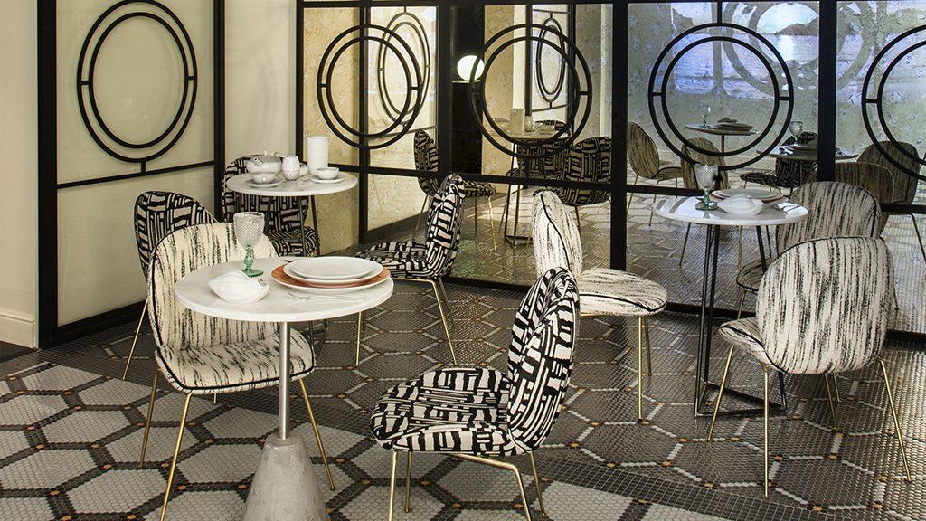 Suelo de mosaico Art Factory Hisbalit en Casa Decor 2019