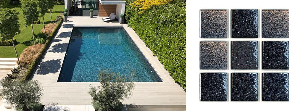 Mosaico para piscina