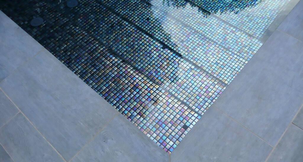 Piscina revestida con la referencia Milo (Aqualuxe)