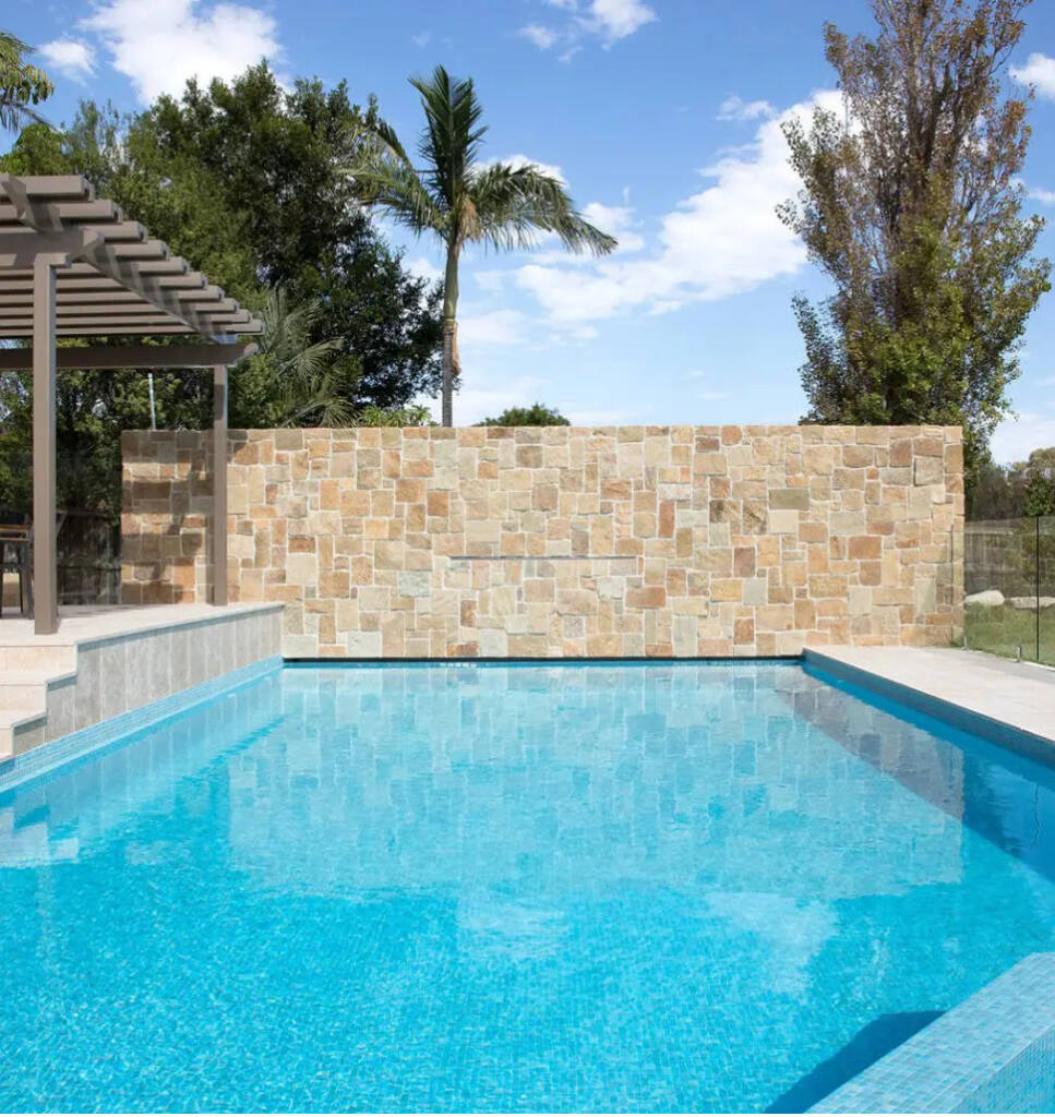 RELAX! CARIBBEAN EFFECT with LIGHT BLUE MOSAIC TILE
